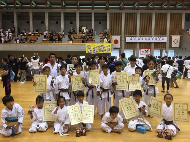 第33回埼玉県スポーツ少年団空手道交流試合